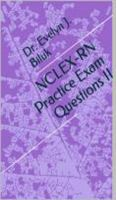 Cover for 'NCLEX-RN Practice Exam Questions II'