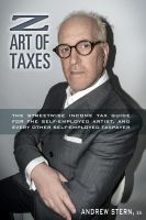 Cover for 'Z Art of Taxes'