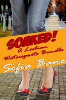 Cover for 'Soaked! A Lesbian Watersports Bundle'
