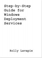 Cover for 'Step-by-Step Guide for Windows Deployment Services'