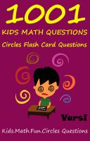 Cover for '1001 Kids Math Questions : Circles Flash Card Questions'