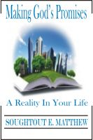 Cover for 'Making God's Promises a Reality in Your Life'