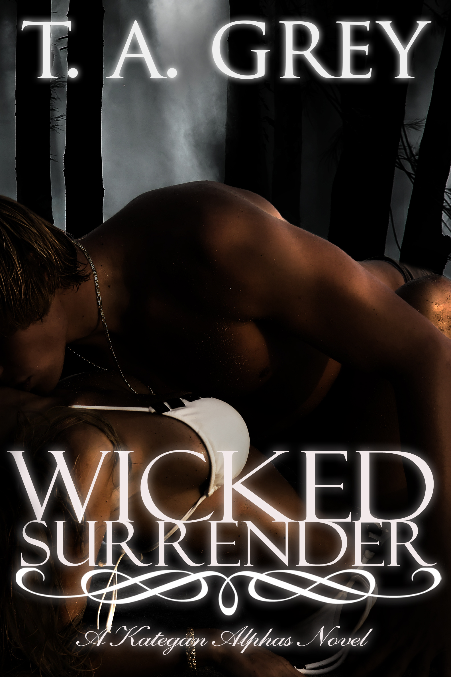 T. A. Grey - Wicked Surrender: The Kategan Alphas 3