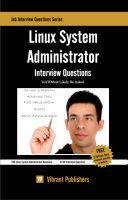 Cover for 'Linux System Administrator Interview Questions You'll Most Likely Be Asked'