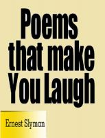 Cover for 'Poems That Make You Laugh'
