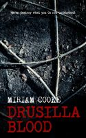 Cover for 'Drusilla Blood'