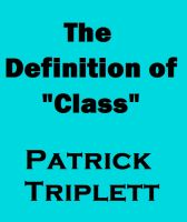 "Cover for 'The Definition of ""Class""'"