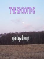 Cover for 'The Shooting'