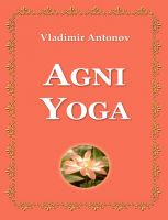 Cover for 'Agni yoga'
