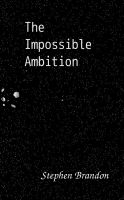 Cover for 'The Impossible Ambition'