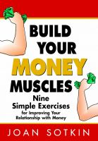 Cover for 'Build Your Money Muscles: Nine Simple Exercises for Improving Your Relationship with Money'