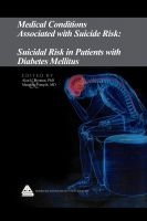 Cover for 'Medical Conditions Associated with Suicide Risk: Suicidal Risk in Patients with Diabetes Mellitus'