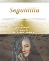 Cover for 'Seguidilla Pure sheet music for piano and flute by Georges Bizet arranged by Lars Christian Lundholm'