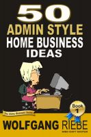 Cover for '50 Admin Based Home Business Ideas'