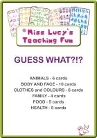 Cover for 'Miss Lucy's Teaching Fun: Guess What?!?'