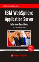 Cover for 'IBM WebSphere Application Server Interview Questions You'll Most Likely Be Asked'