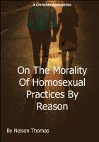 Cover for 'On the morality of homosexual practices by reason'