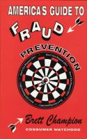 Cover for 'America's Guide to Fraud Prevention'