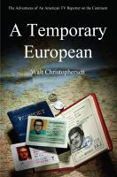 Cover for 'A Temporary European'