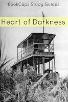 Cover for 'Heart of Darkness Study Guide and Book (Annotated)'