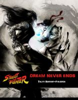 Cover for 'Street Fighter: Dream Never Ends'