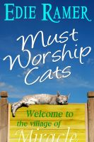 Cover for 'Must Worship Cats'
