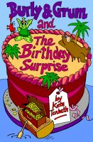 Cover for 'Burly & Grum and The Birthday Surprise'