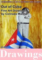 Cover for 'Out of Cuba, 60 art drawings'