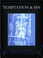 Cover for 'Temptation & Sin Bible Verses'