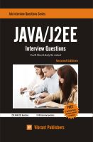Cover for 'JAVA / J2EE Interview Questions You'll Most Likely Be Asked'