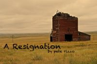 Cover for 'A Resignation'