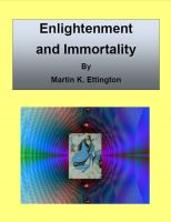 Cover for 'Enlightenment and Immortality'