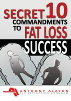 Cover for 'Secret 10 Commandments to Fat Loss Success'