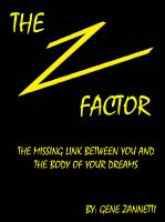 Cover for 'The Z-Factor: The Missing Link Between You and the Body of Your Dreams'