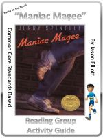 Cover for 'Maniac Magee By Jerry Spinelli Reading Activity Guide'