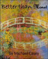 Better than Monet cover