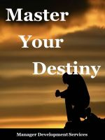 Cover for 'Master Your Destiny'