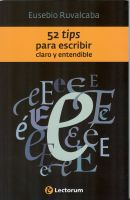 Cover for '52 Tips para escribir claro y entendible'