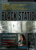 Cover for 'Black Static #24 Horror Magazine'