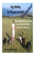 Cover for 'Dog Walking for Pleasure & Profit Unleashed'