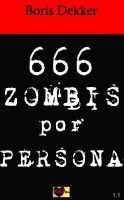 Cover for 'Hay 666 zombis por persona'