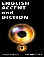 Cover for 'English Accent and Diction'