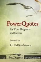 Cover for 'Powerquotes for your Happiness and Success'