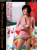 Cover for 'The Gambler's Horny Daughter  (Horny Daughter Series)'