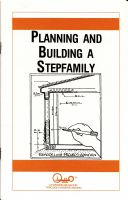 Cover for 'Planning and Building a Stepfamily'