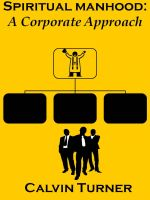 Cover for 'Spiritual Manhood:  A Corporate Approach'