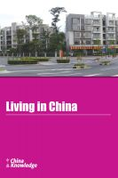 Cover for 'Living in China'