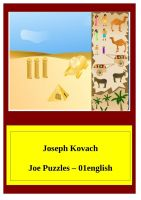 Cover for 'JoePuzzles-01english'