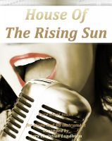 Cover for 'The House Of The Rising Sun Pure sheet music for piano and Bb instrument arranged by Lars Christian Lundholm'