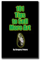 Cover for '101Tips to Sell More Art'